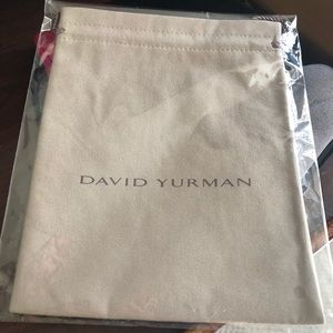 EXTRA EXTRA LARGE-NEW David Yurman Tan Suede Pouch